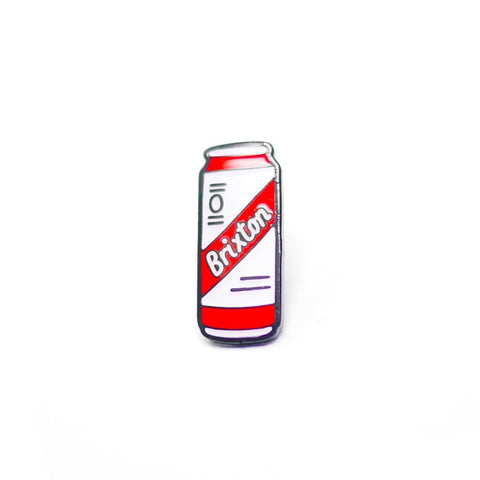 Brixton Beer Can Enamel Pin