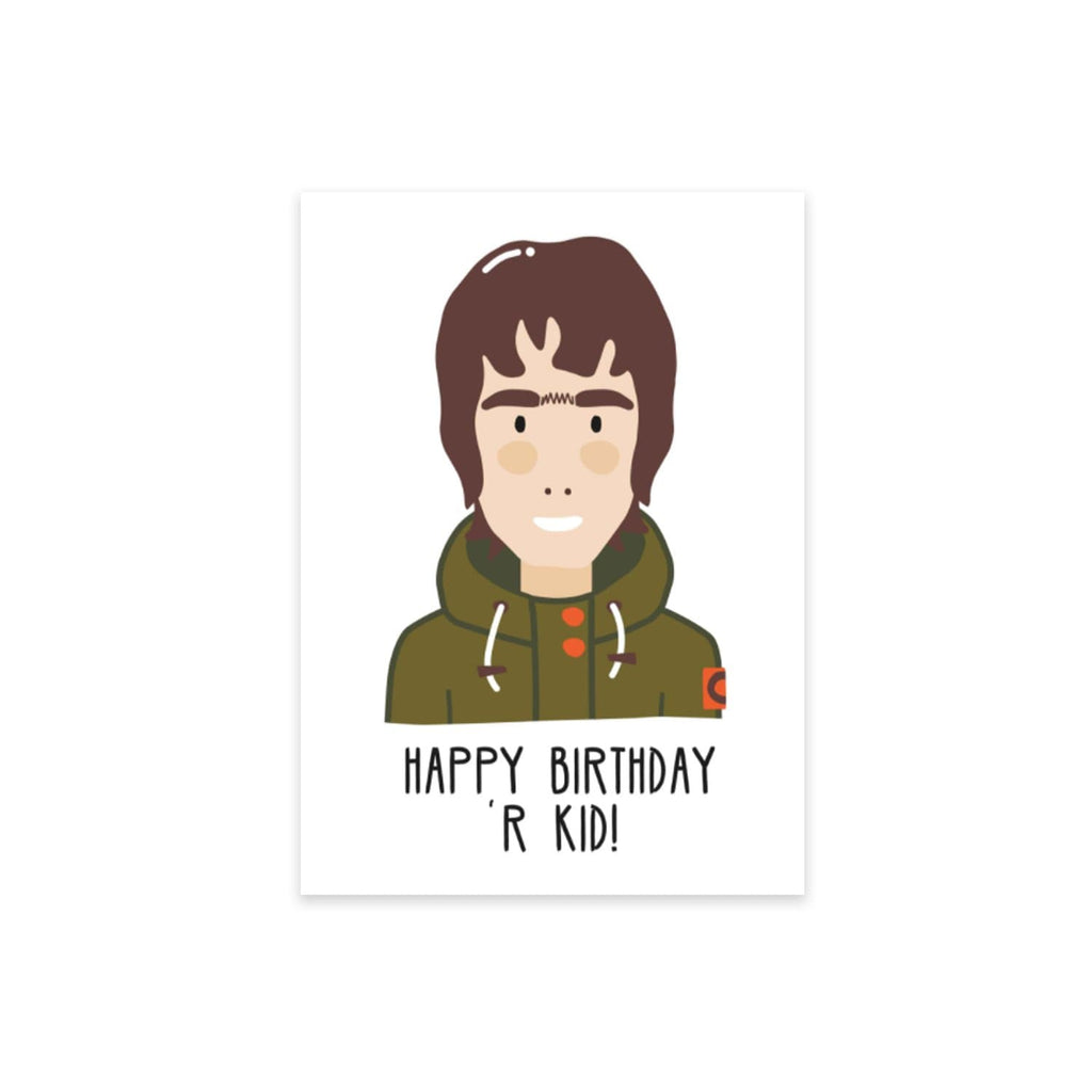 Happy Birthday 'R Kid Card