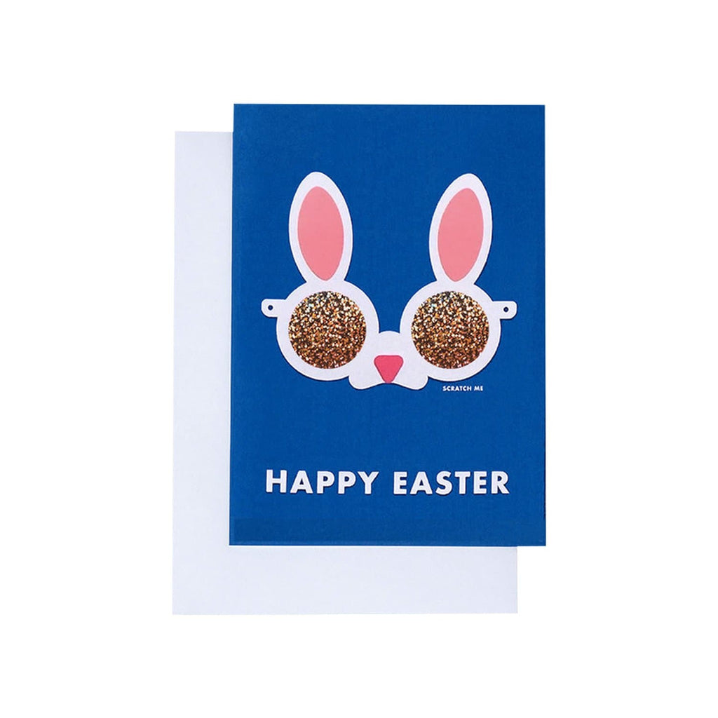 Happy Easter Bunny Scratch Off Card