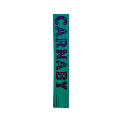 Carnaby Leather Bookmark Viridian Green