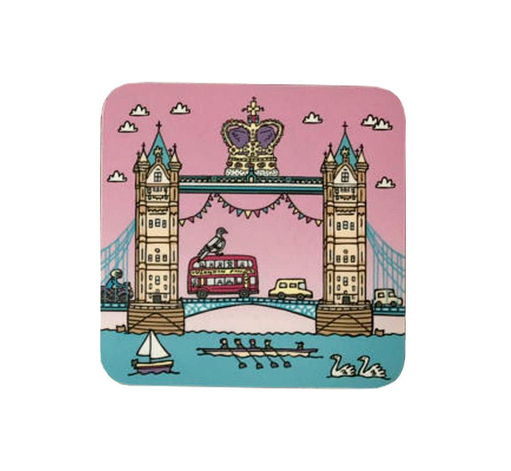 Tower Bridge In Summer Coaster