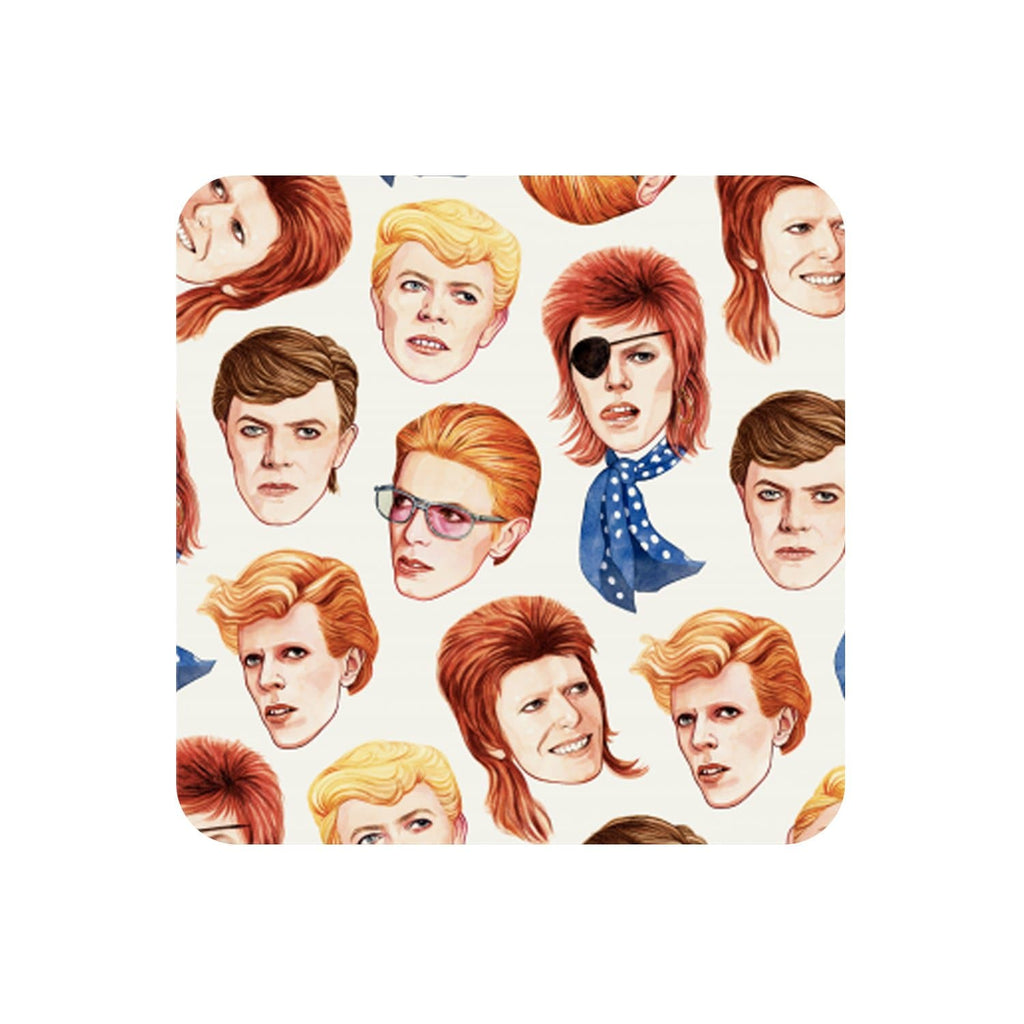 Helen Green Fabulous Bowie Coaster for We Built This City 1
