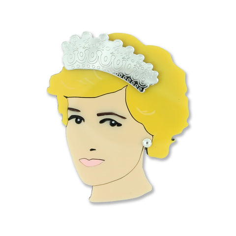 Princess Di Brooch