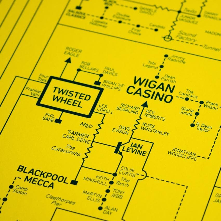 *YELLOW* Acid House Love Blueprint Art Music Dorothy for We Built This City 5