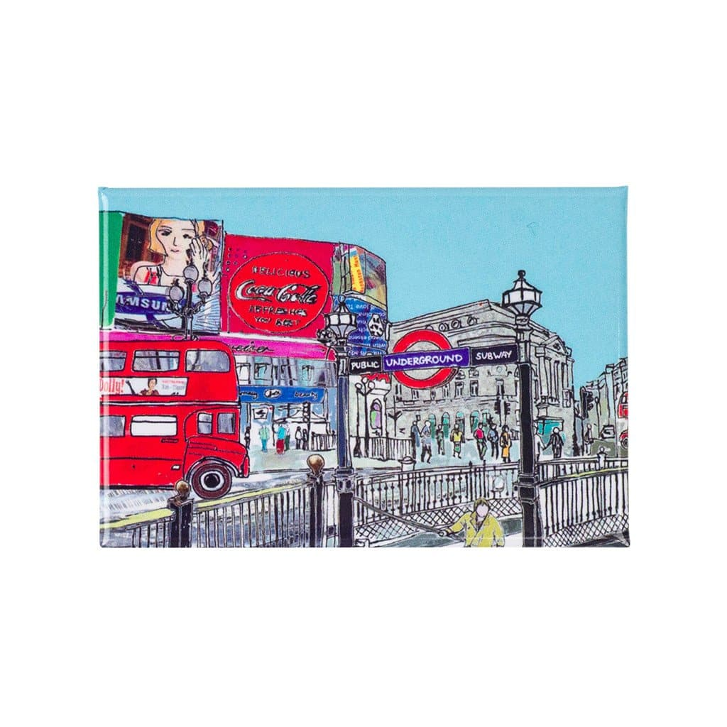 Piccadilly Circus Fridge Magnet