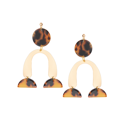 Gold Calder Earrings