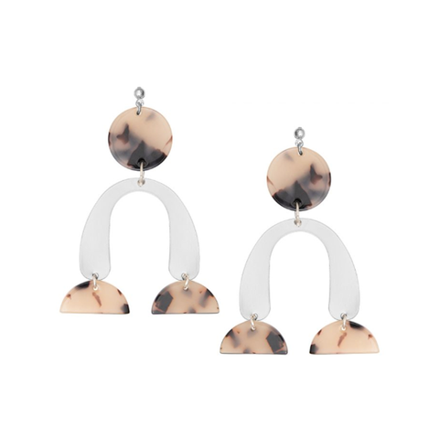Silver Calder Earrings