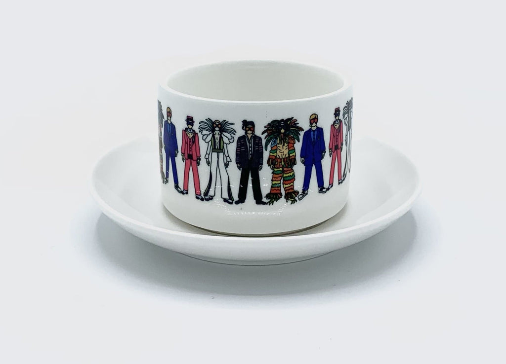 elton john mug cup saucer rocket man for We Built This City 2
