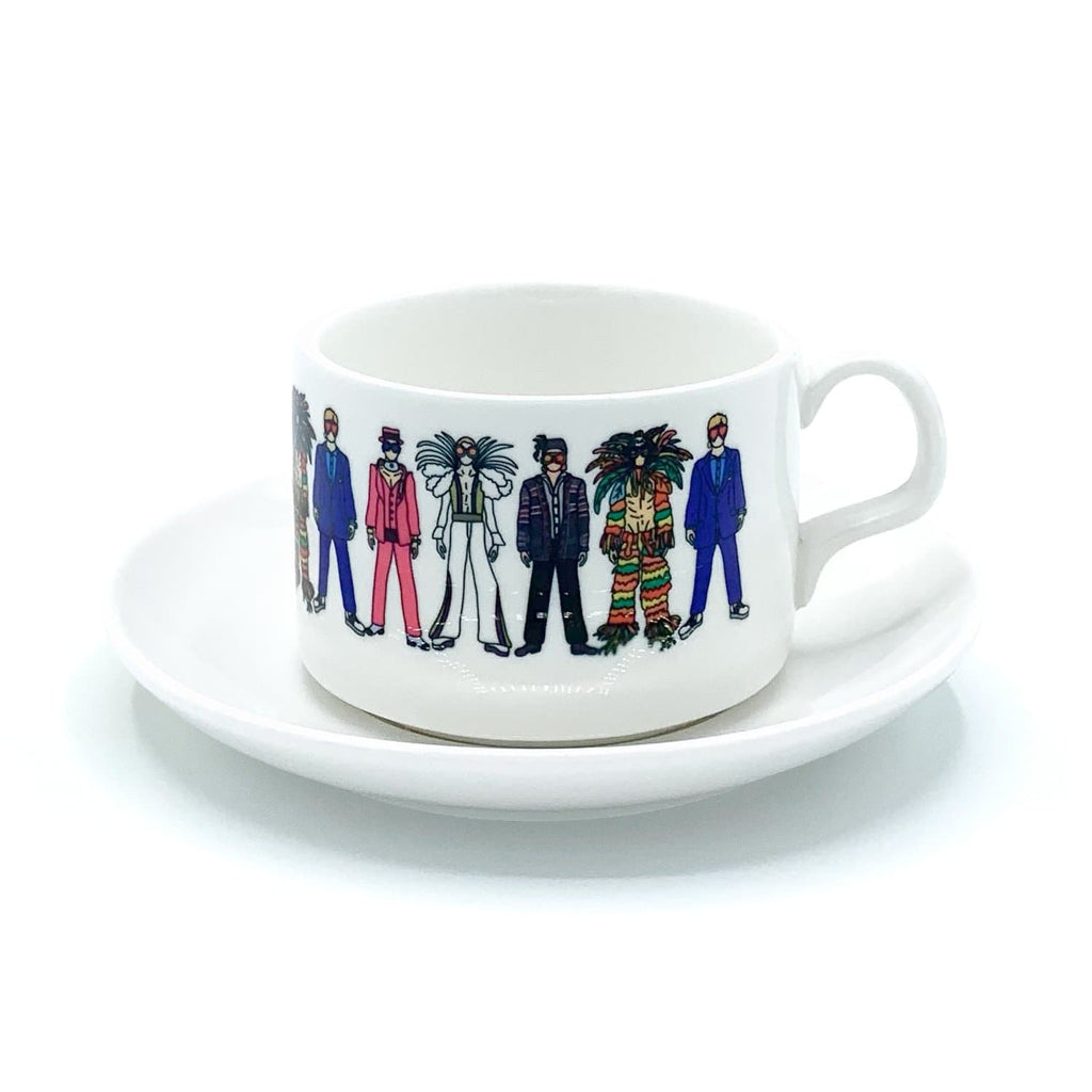 elton john mug cup saucer rocket man for We Built This City 1