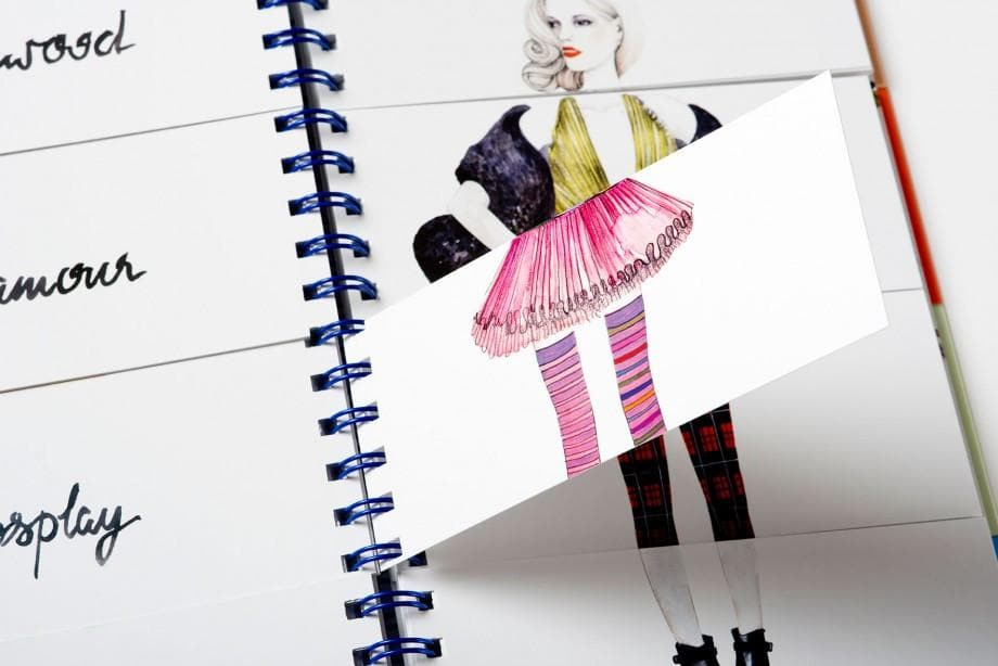 Flip Fashion Book