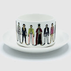 freddie mercury notsniw mug cup saucer queen for We Built This City 2