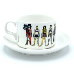 freddie mercury notsniw mug cup saucer queen for We Built This City 3