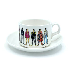 freddie mercury notsniw mug cup saucer queen for We Built This City 1