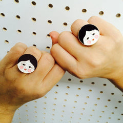 Doll Face Ring