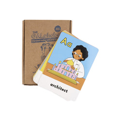The Galphabet Flash Cards by BossBabs