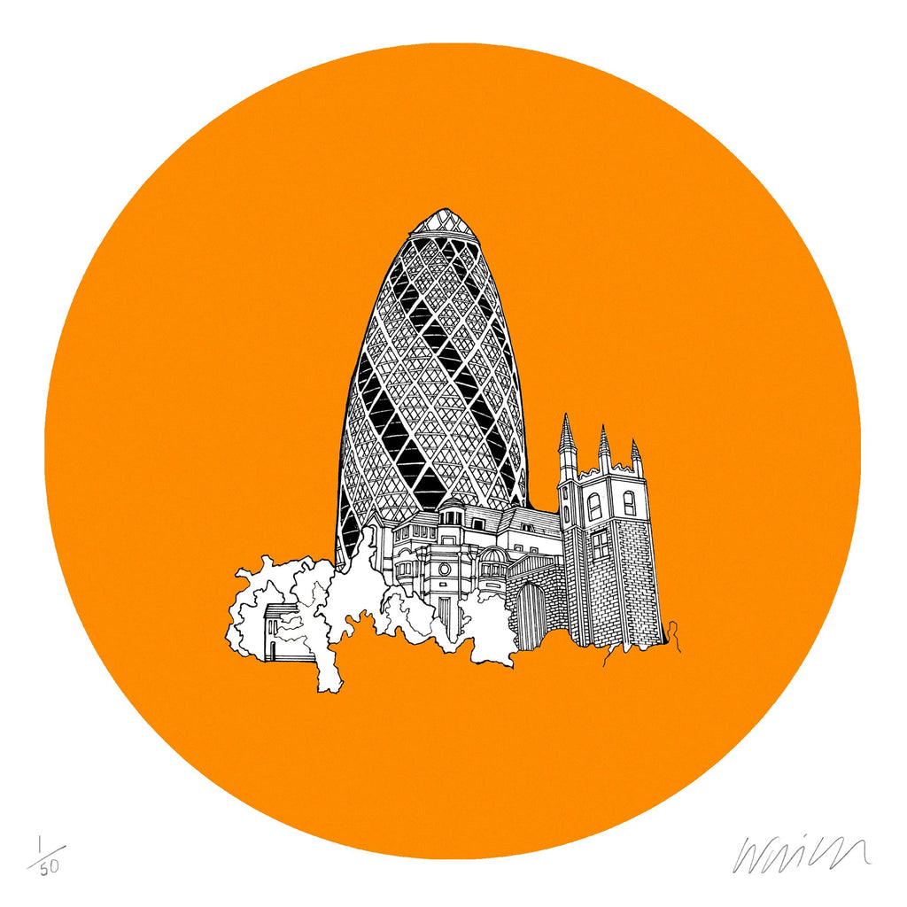Gherkin (Orange)