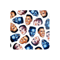 Grace Faces Coaster Homeware - Coasters Helen Green for We Built This City 1