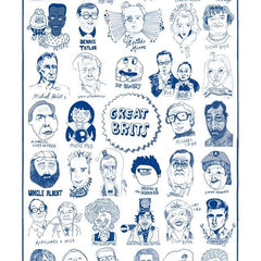 Great Brits Tea Towel