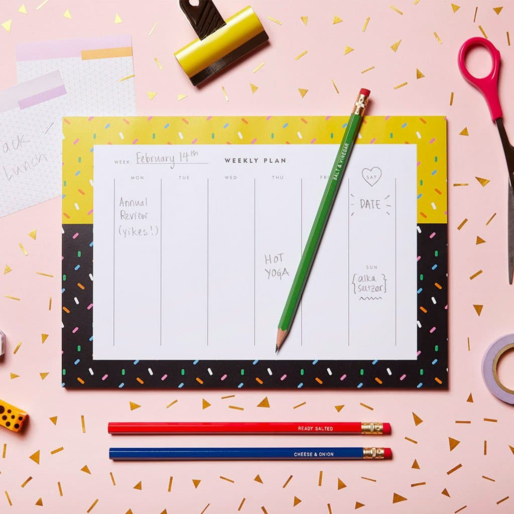Four Seasons Weekly Planner