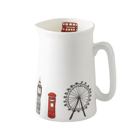 London Icons 1/2 Pint Jug
