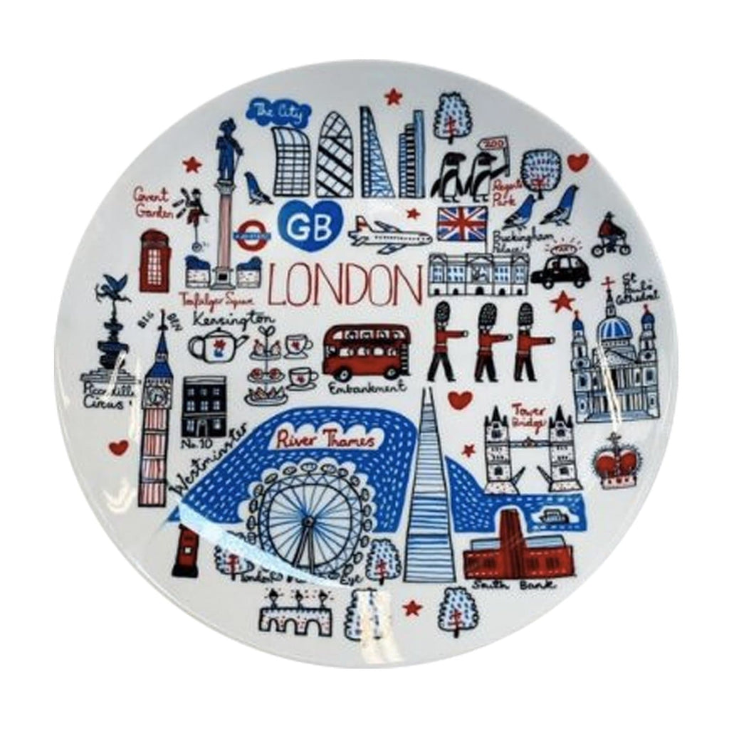 London Landmark Plate Ceramics - Plates Julia Gash for We Built This City 1