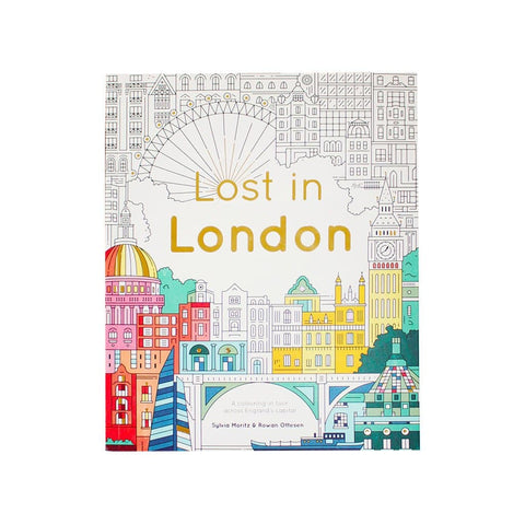Lost In London Colouring Book