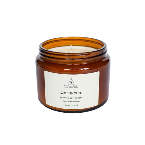 Greenhouse Soy Wax Candle - 500ml