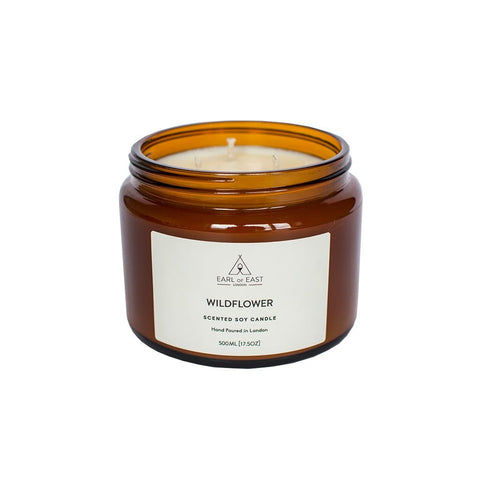 Wildflower Soy Wax Candle - 500ml