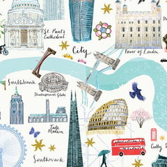 London Floral City Map A3 Art Commission Josie Shenoy Illustration for We Built This City 6