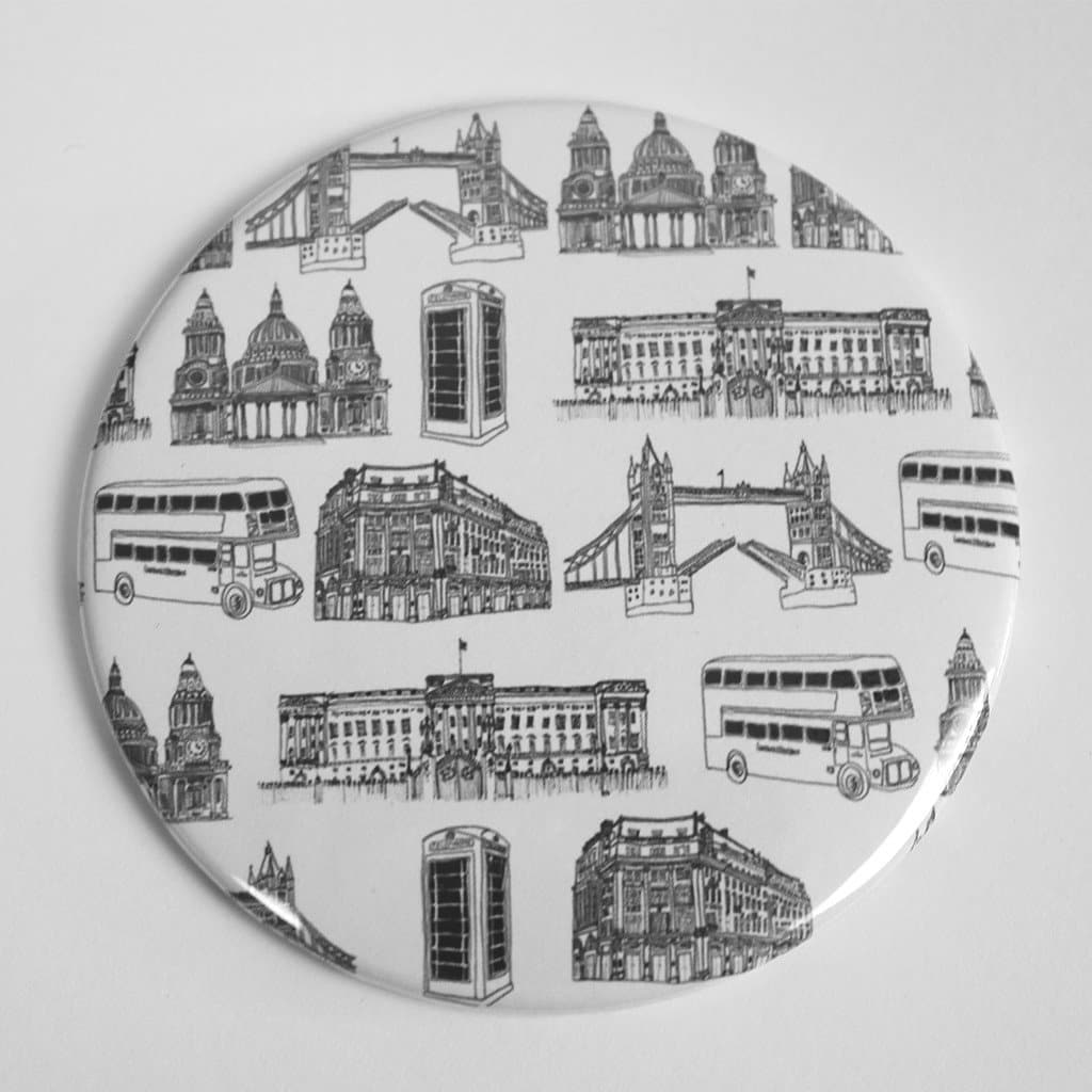 London Pocket Mirror