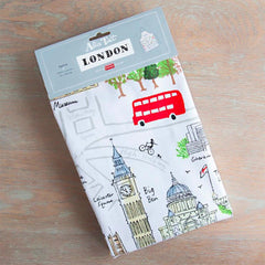 London Map Apron Kitchen Textiles - Aprons Alice Tait for We Built This City 2