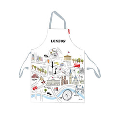 London Map Apron Kitchen Textiles - Aprons Alice Tait for We Built This City 1