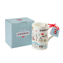 London Map Mug Ceramics - Drinking Vessels Alice Tait for We Built This City 2