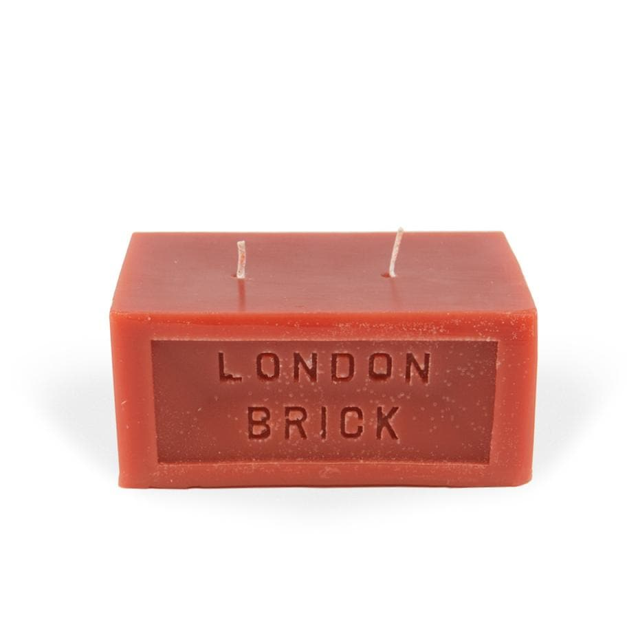 Brick Candle - Fired Clay