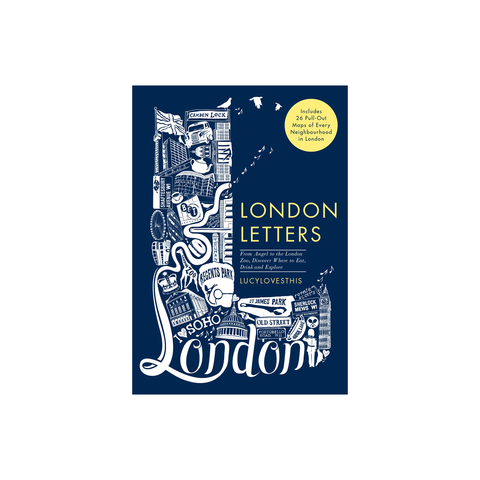 London Letters Map Cards
