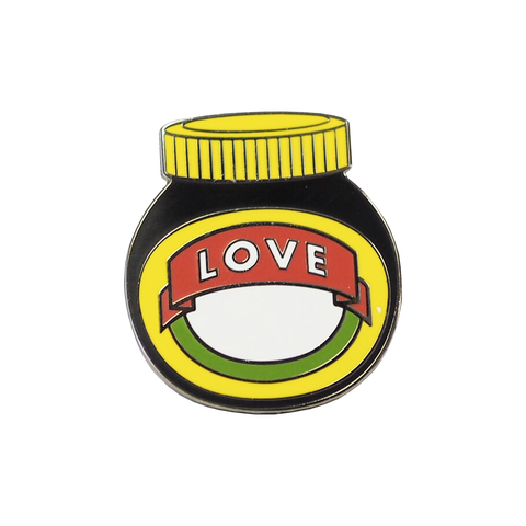 Love Marmite Enamel Pin