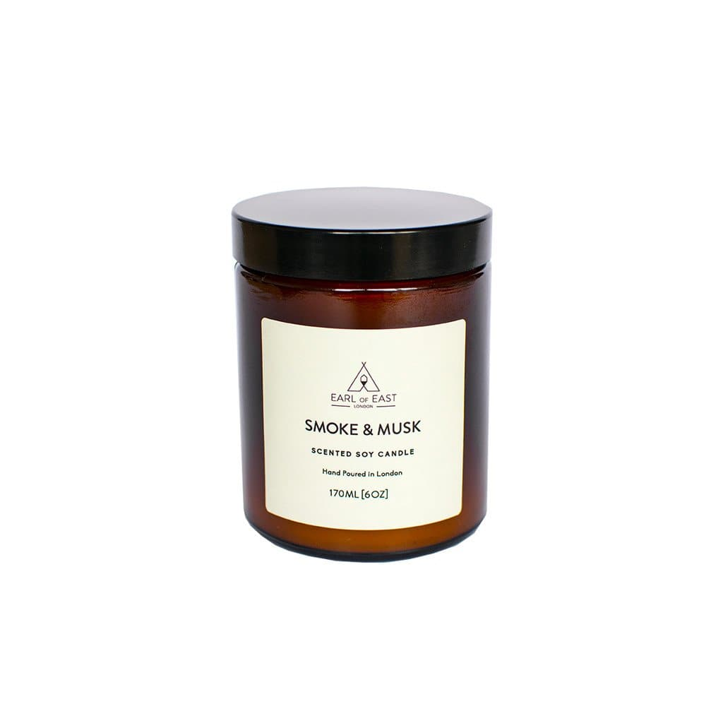 Smoke and Musk Soy Wax Candle - 170ml