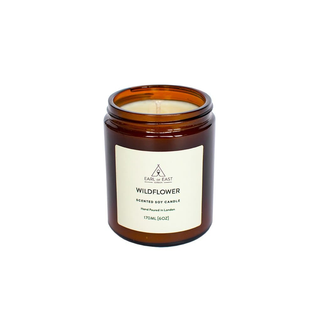 Wildflower Soy Wax Candle - 170ml