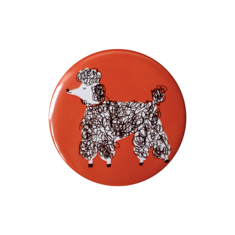 Poodle Pocket Mirror