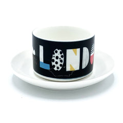 London Cup and Saucer Ceramics - Drinking Vessels Nichola Cowdery for We Built This City 1
