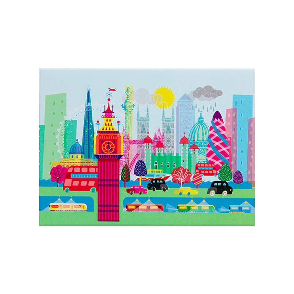 Colourful London Magnet