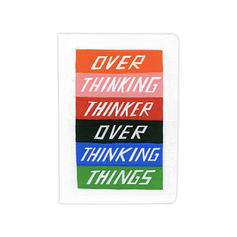 Over Thinker Notebook