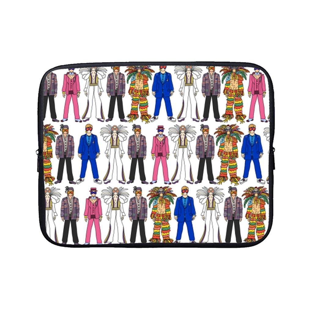 Elton John Laptop Case Fashion - Cases Notsniw Art for We Built This City 1