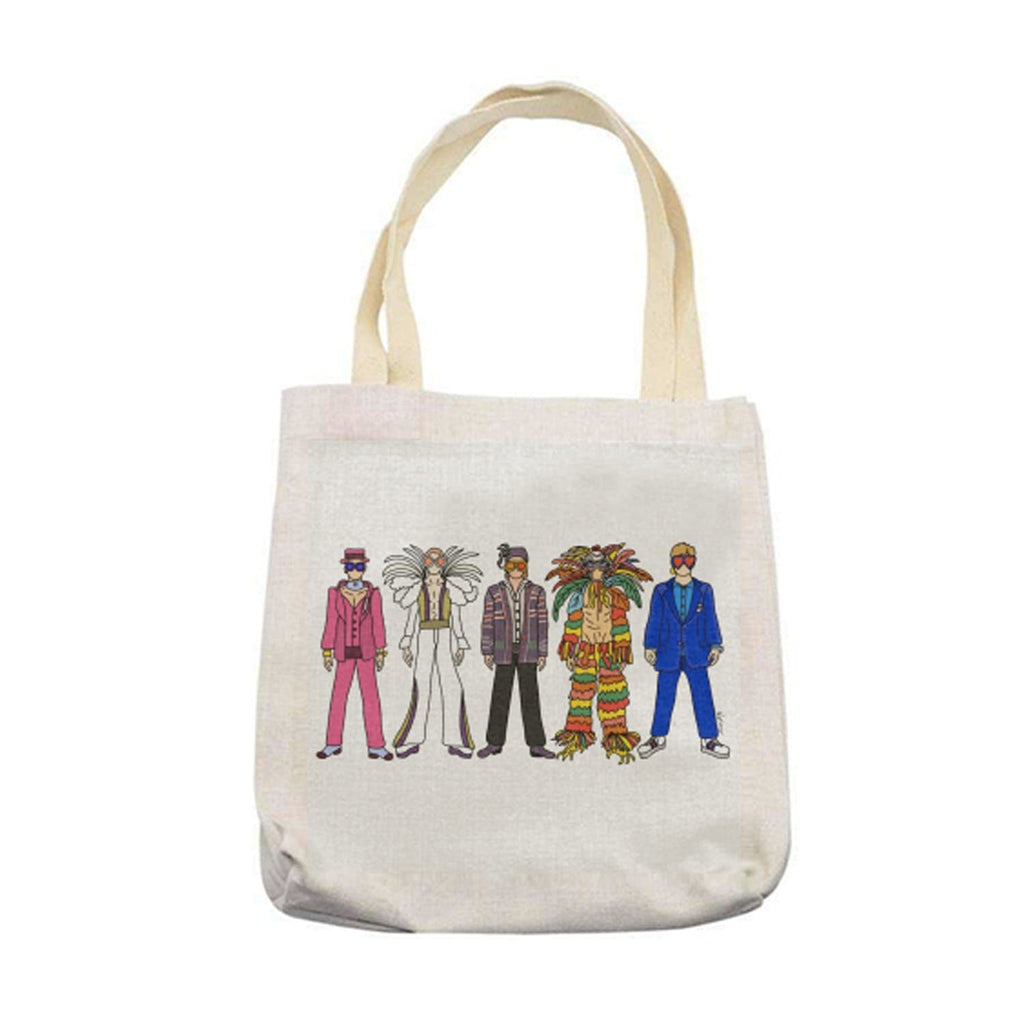 elton john linen tote bag saturday night still standing rocket man for We Built This City 1