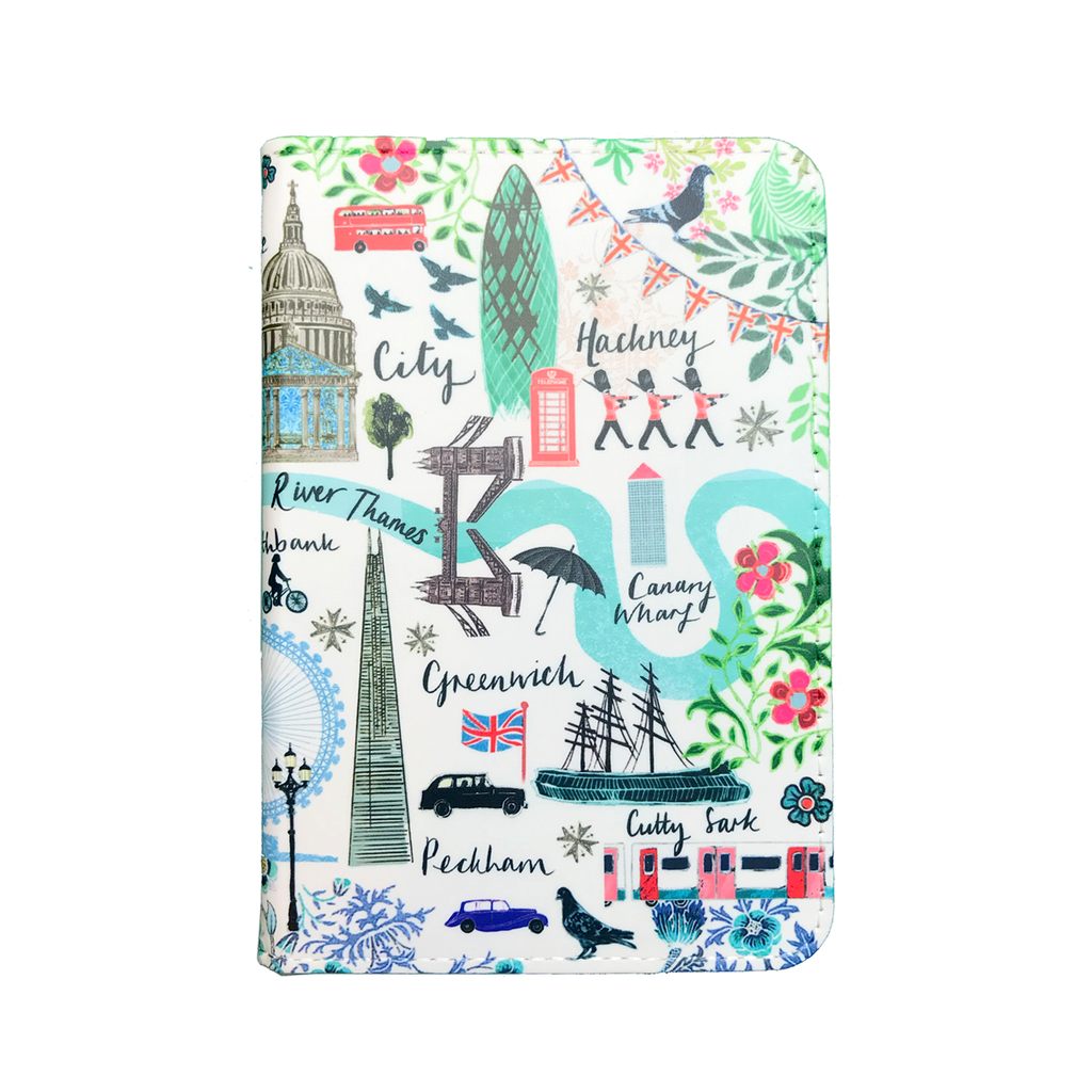 Josie Shenoy Map Passport Holder