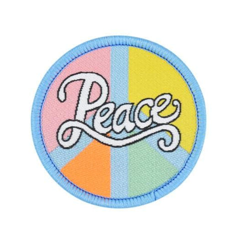 Peace Embroidered Patch