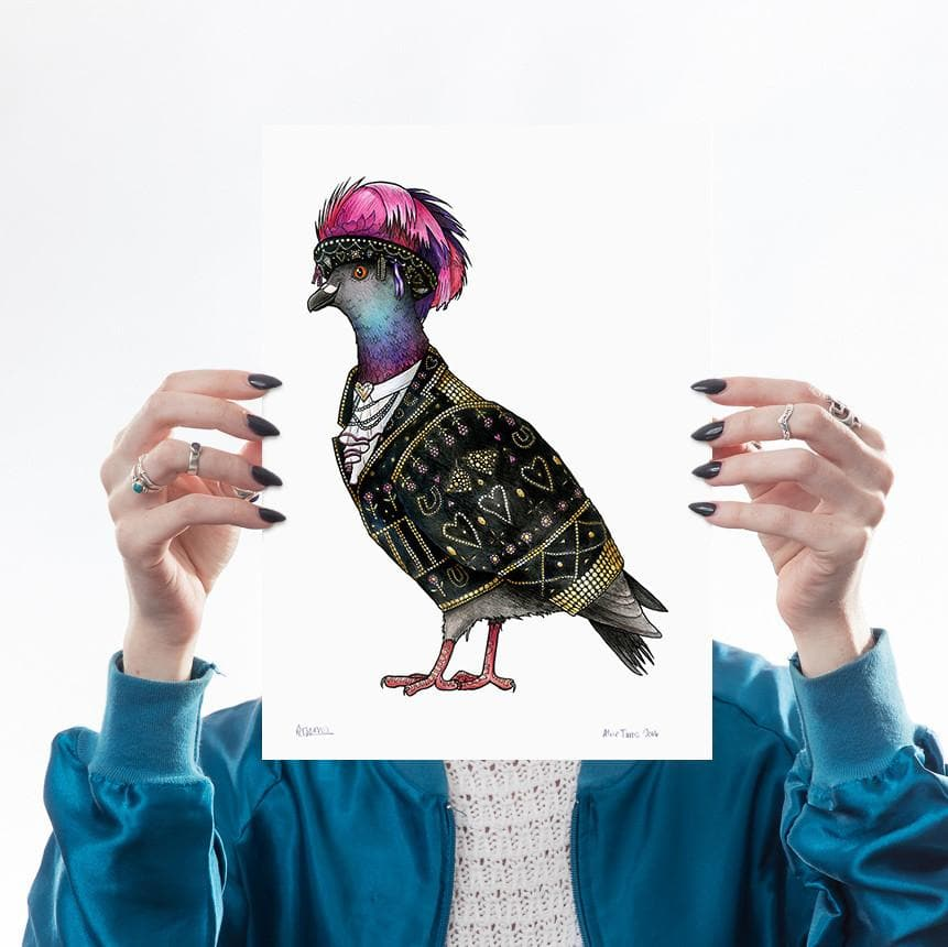 Pearly Queen Pigeon