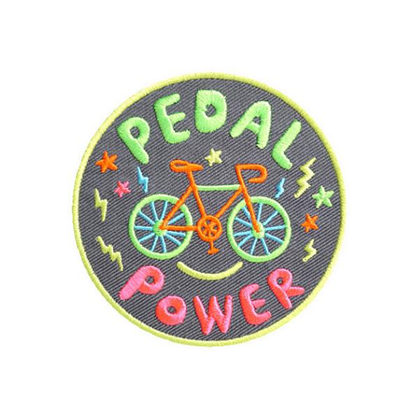 Pedal Power Iron on Patch