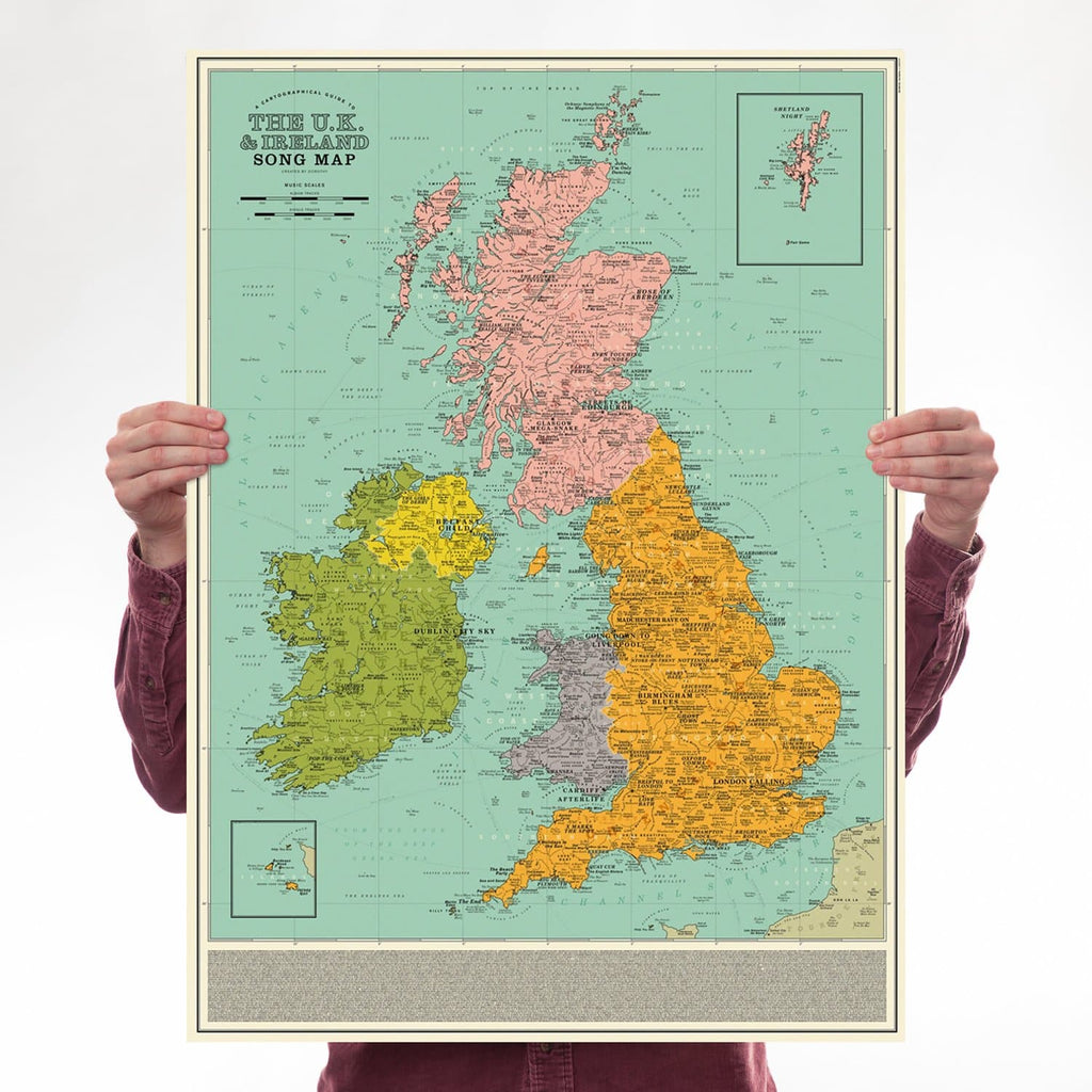 uk, ireland, song map, smiths, specials, clash, joy division, led zeppelin, pink floyd, blur