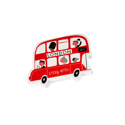 Little Red Bus Sticky Notes